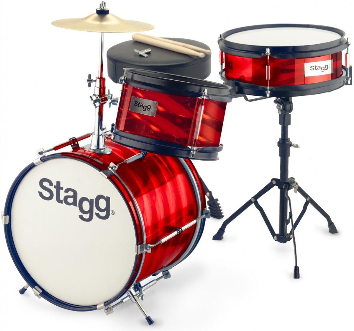 Stagg TIM JR 3/12B RD 3-delig junior drumset 12