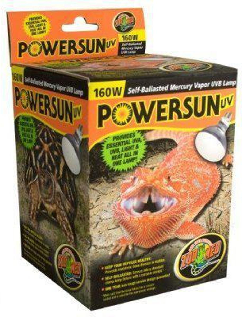 ZM Powersun UV Self Ballasted Mercury Vapor Lamp - 160 w.