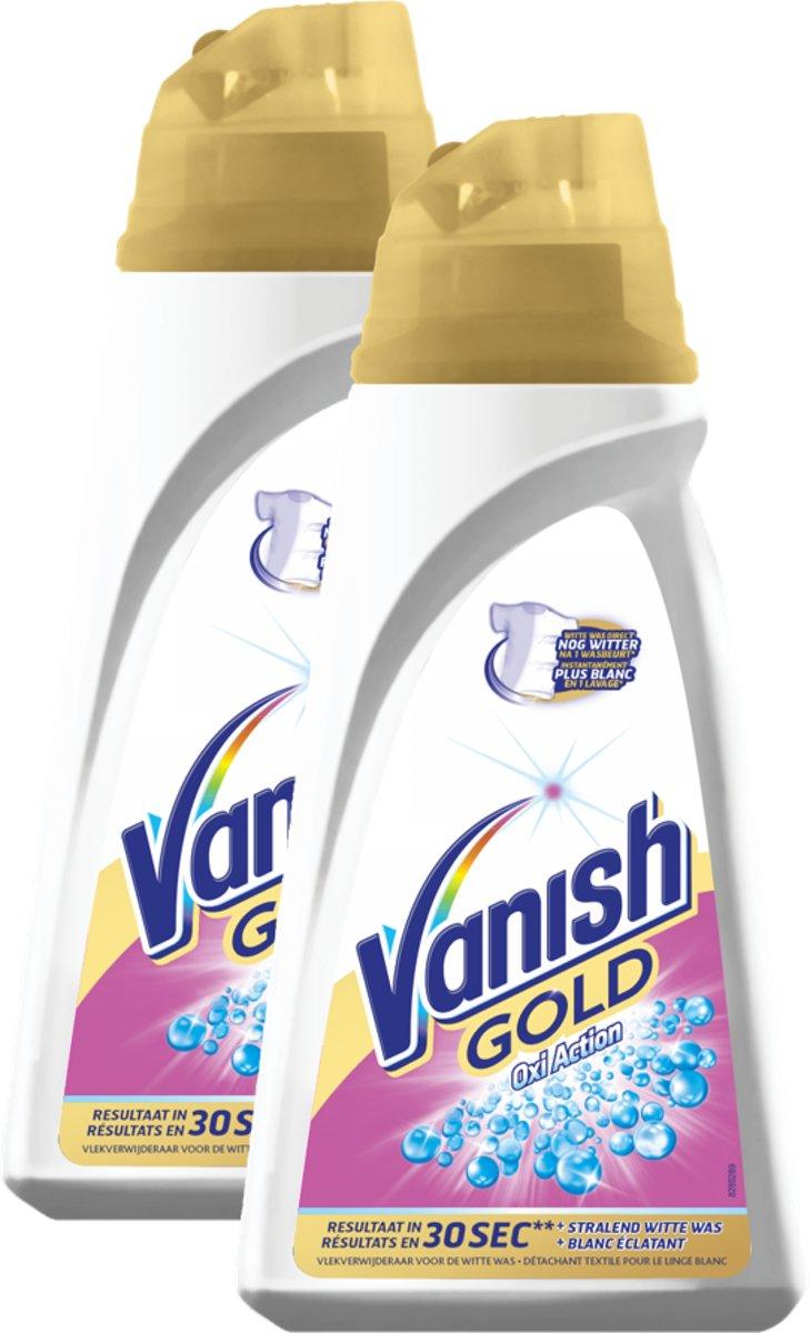 Vanish Gold White Gel Vlekkenverwijderaar - 2x500ml kopen