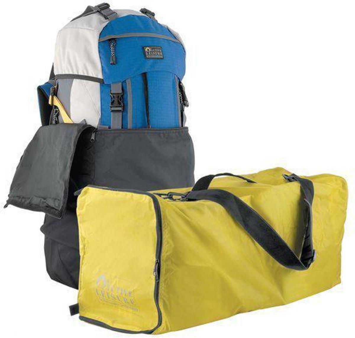 Flightbag voor backpack - tot 55 liter - Geel kopen