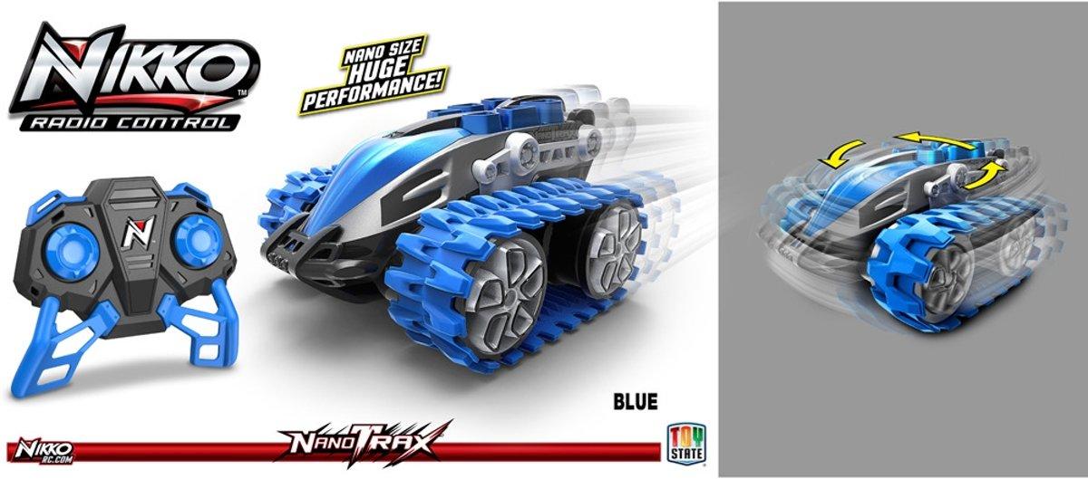 Nikko NanoTrax? Blauw - RC Auto