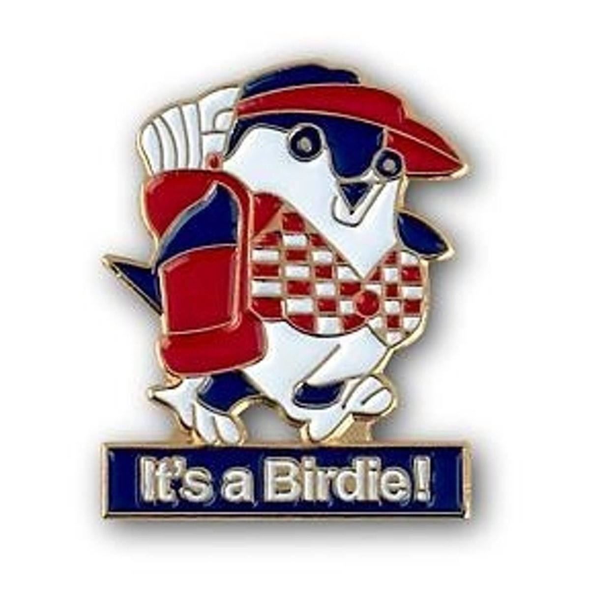 """Golfbal marker """": It's a Birdie"""" kopen"""