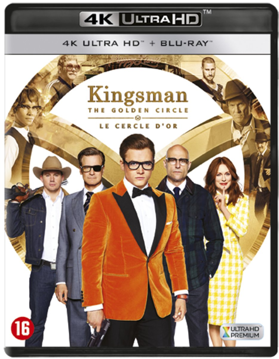 Kingsman - The Golden Circle (4K Ultra HD Blu-ray)-