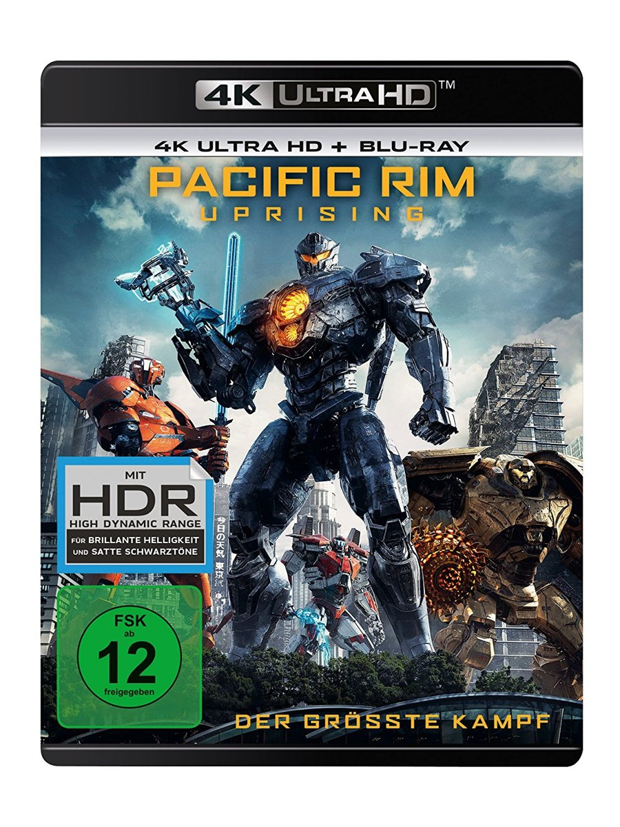 Pacific Rim: Uprising (Ultra HD Blu-ray & Blu-ray)-