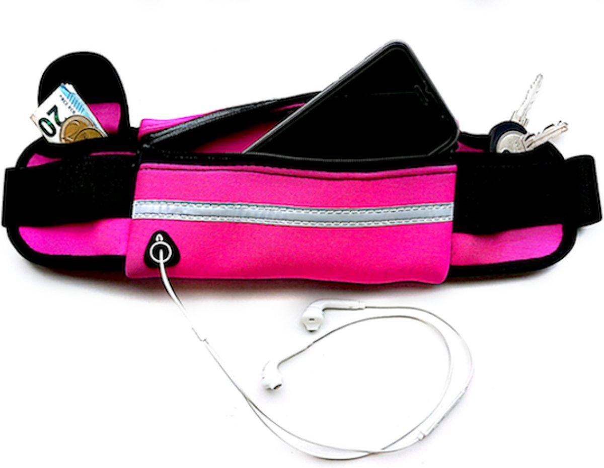 Running belt - Hardloop belt - Hardloop riem - Roze