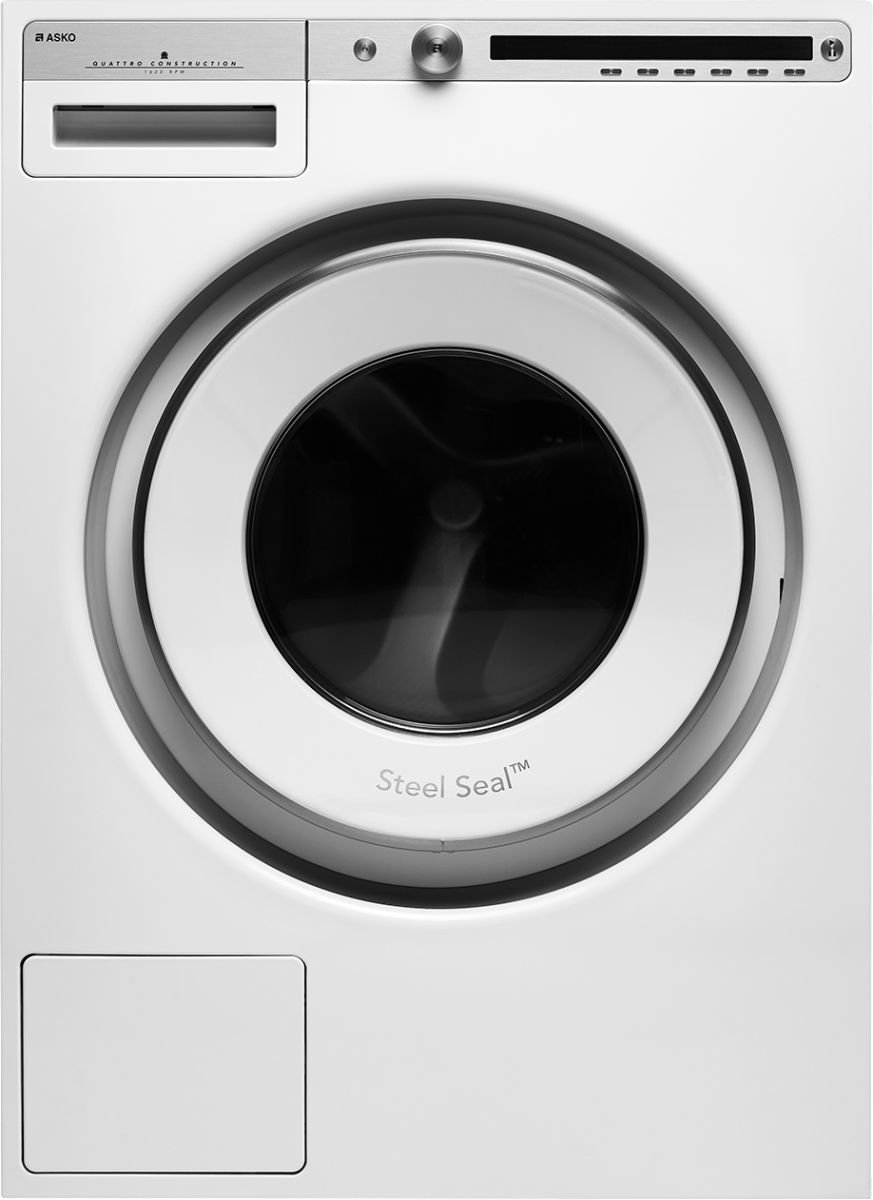Asko W4086C.W Vrijstaand Voorbelading 8kg 1600RPM A+++ Wit wasmachine