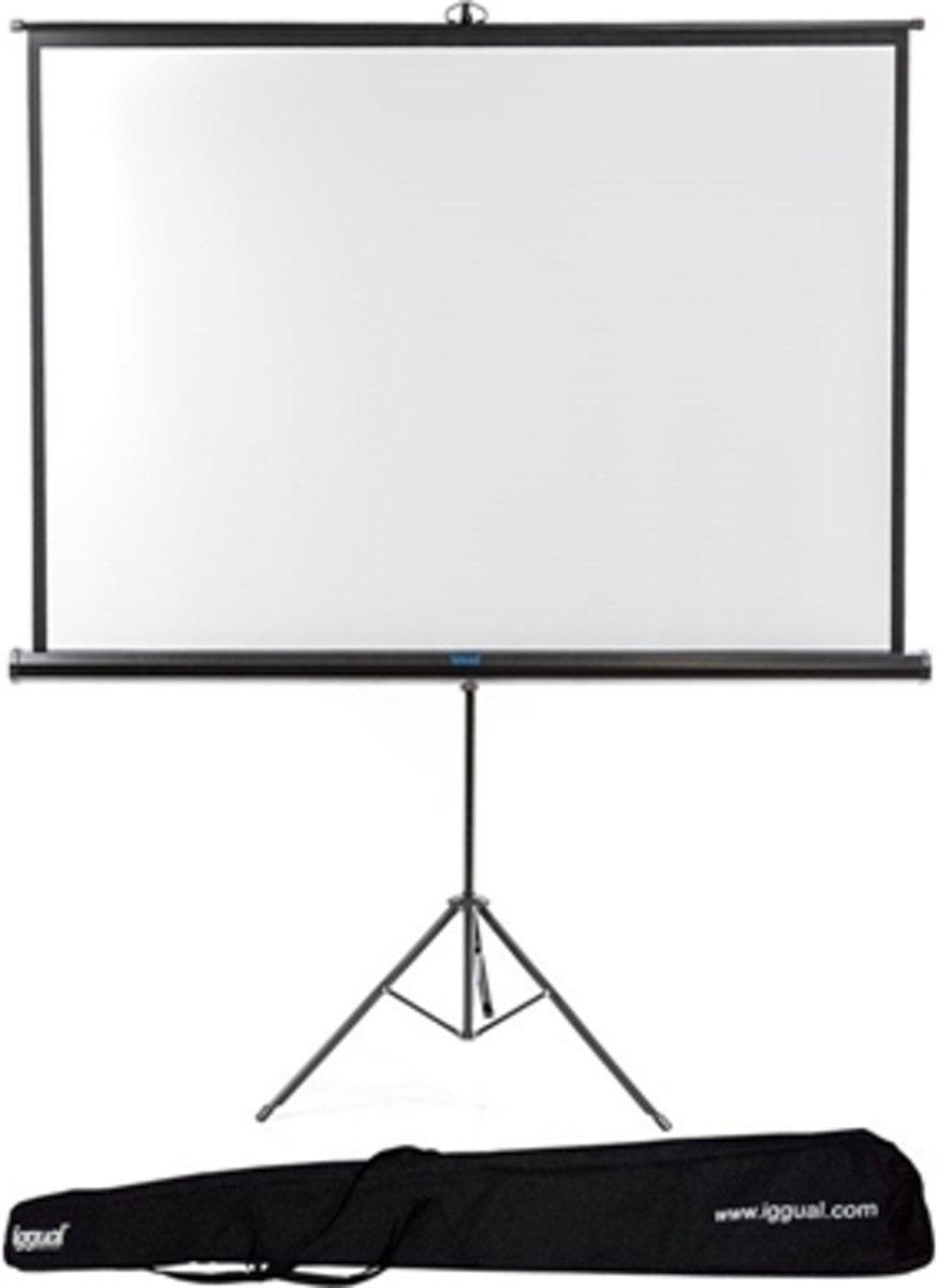 iggual PSITS200 111'' 1:1 Zwart, Wit projectiescherm kopen