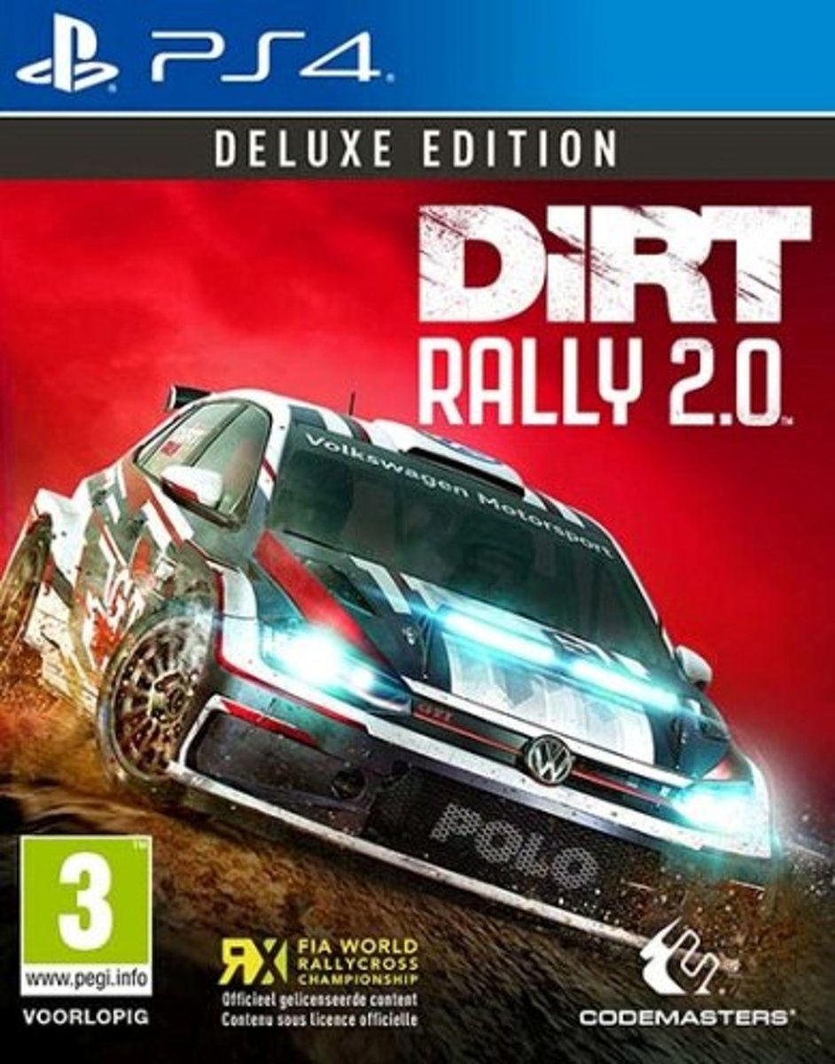 DiRT Rally 2.0 Deluxe Edition PlayStation 4