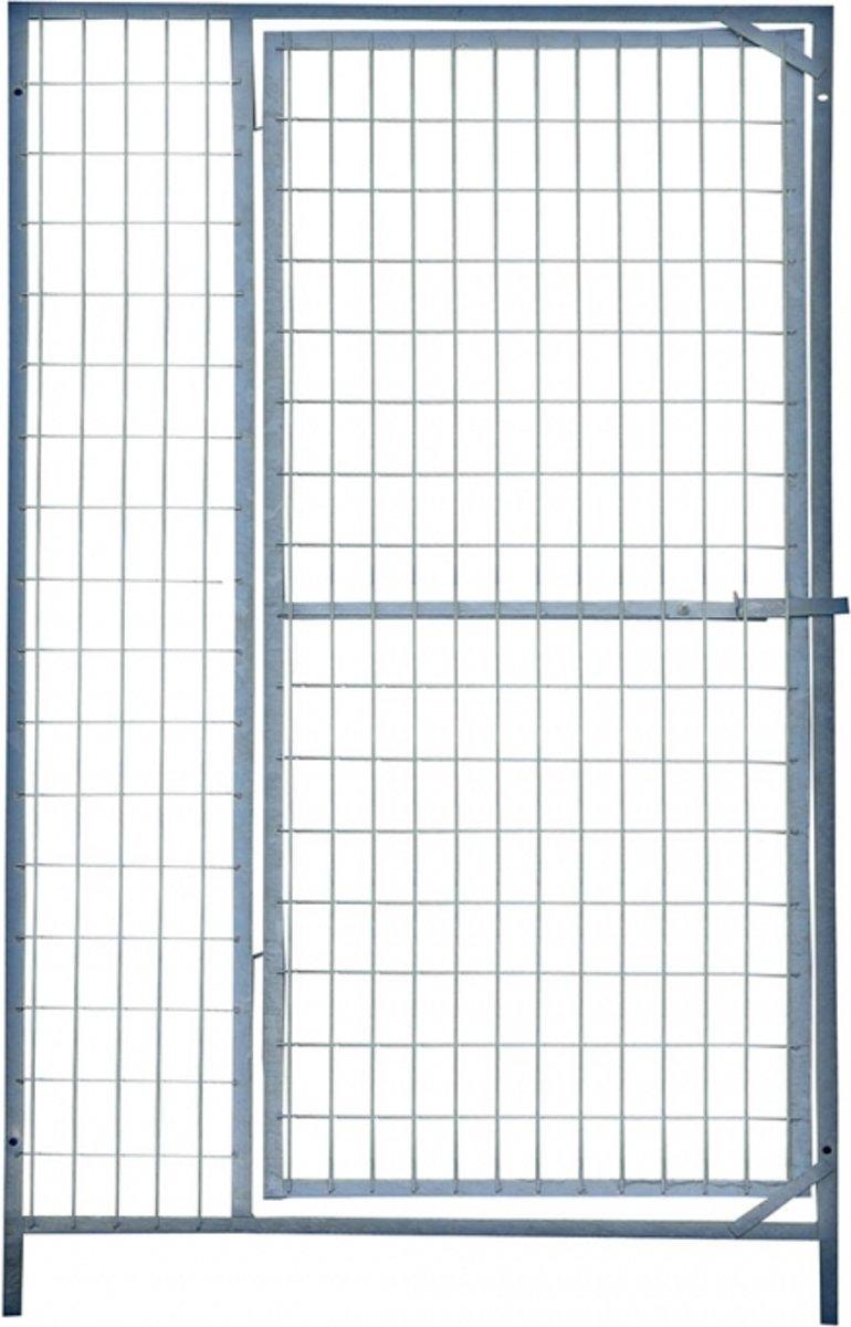Kennelpaneel draad met deur 150x184cm kopen