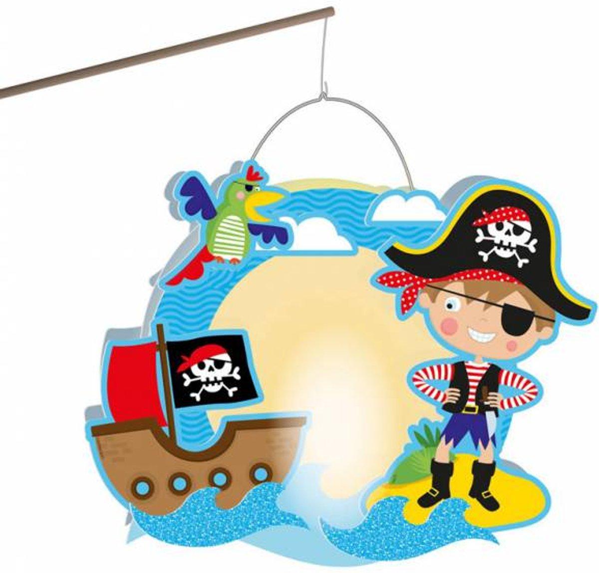 Piraten Lampion Deluxe 30cm kopen