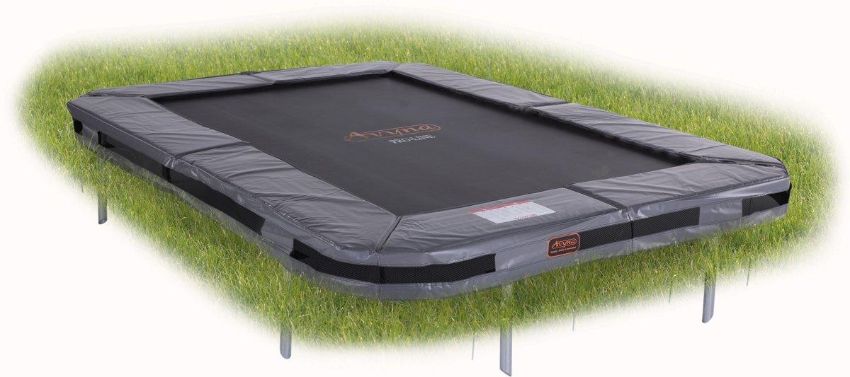 Avyna PRO-LINE InGround trampoline 238 (380x255) Grijs