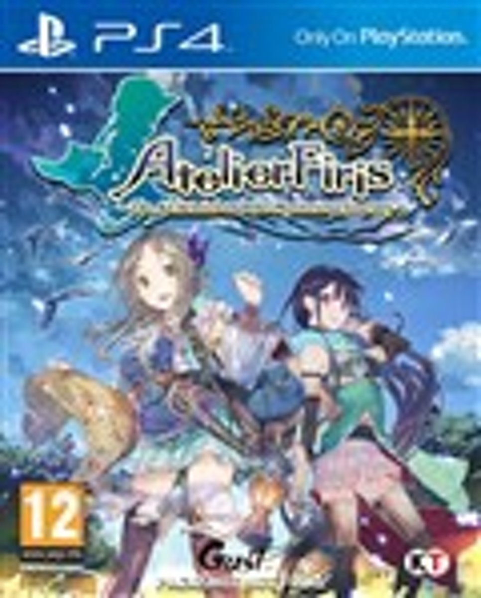 Atelier Firis, The Alchemist and the Mysterious Journey PlayStation 4