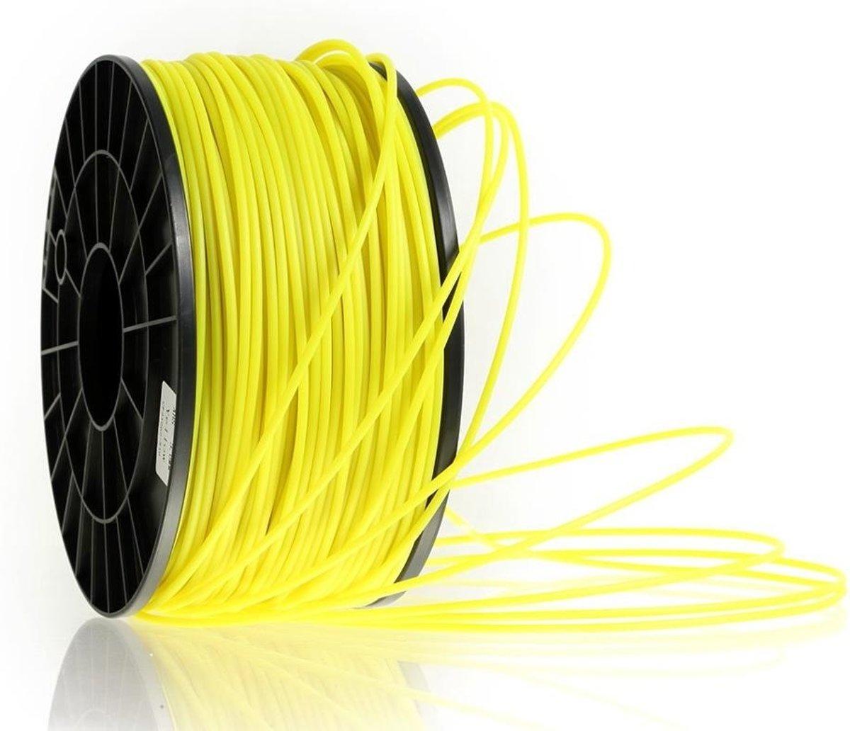 3D ABS filament 1.75mm -1 KG - Glow in the dark Geel kopen