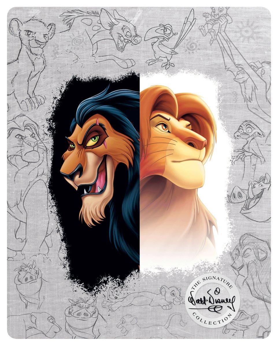 Le Roi Lion (4K Ultra HD Blu-ray) (Import zonder NL)-