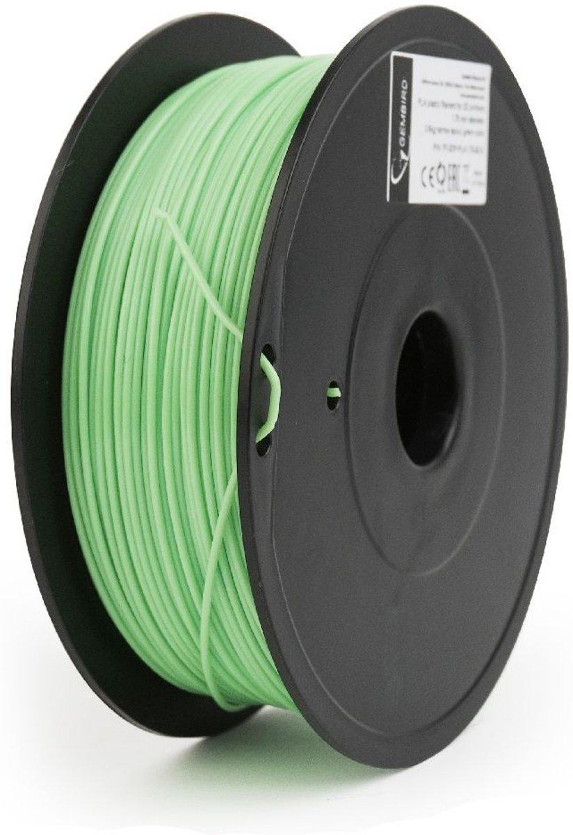 Gembird3 FF-3DP-PLA1.75-02-G - Filament (600 g) PLA, 1.75 mm, 53 mm spoel, groen kopen