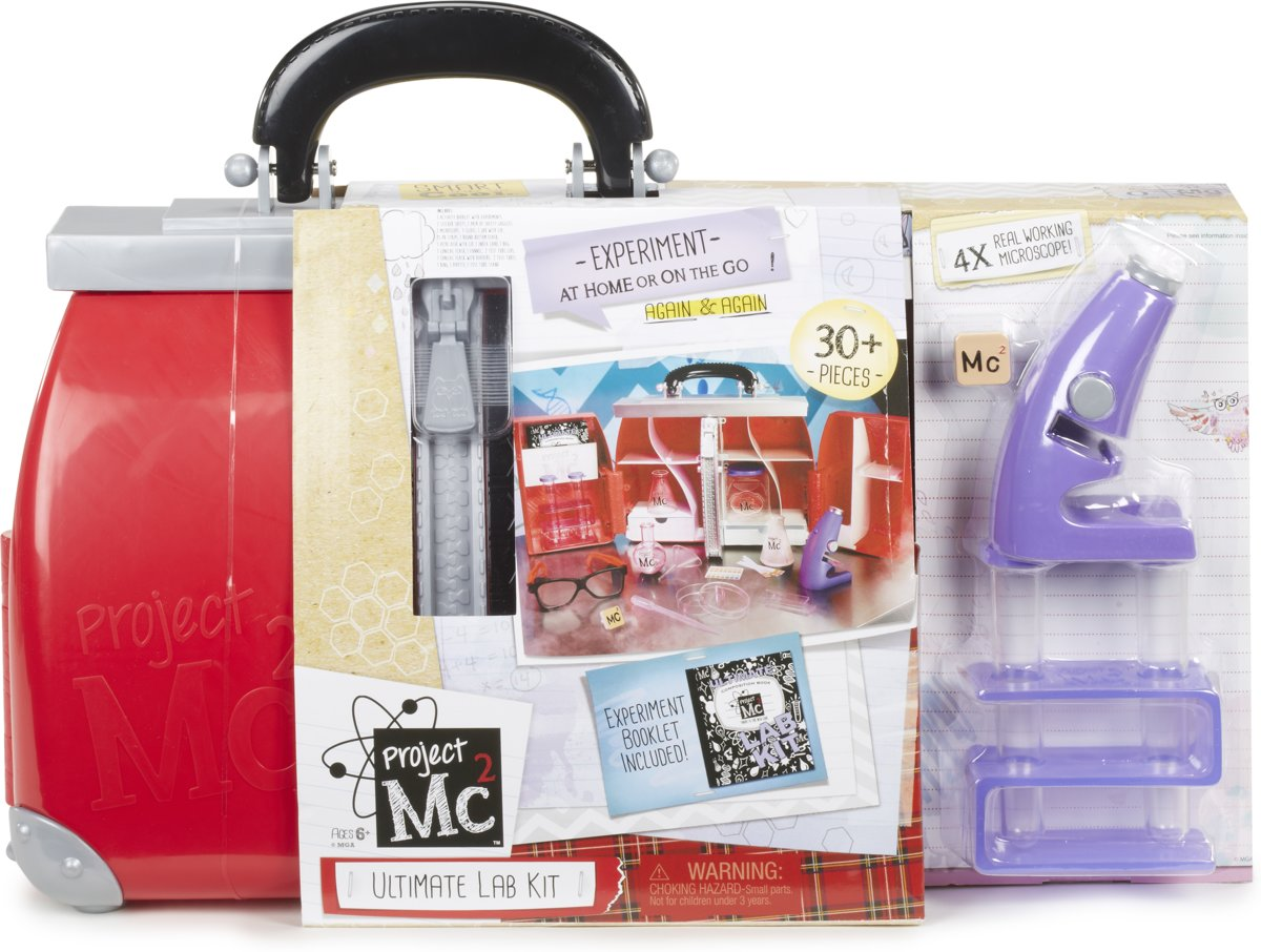 Project Mc² Ultimate Lab Kit Experiment