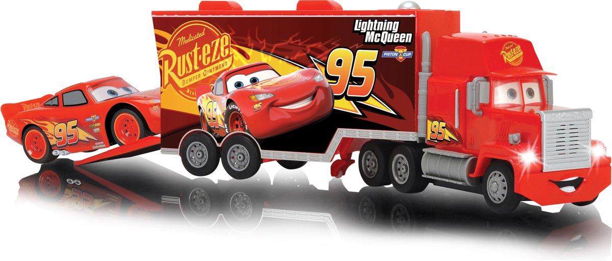 Bol Com Cars 3 Rc Mack Truck Turbo Bestuurbare Vrachtwagen