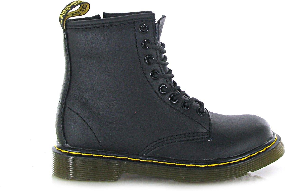 5ed2b3a1dc4 bol.com | Dr. Martens - Delaney - Boots met rits en veter - Unisex - Maat  31 - Zwart;Zwarte -.