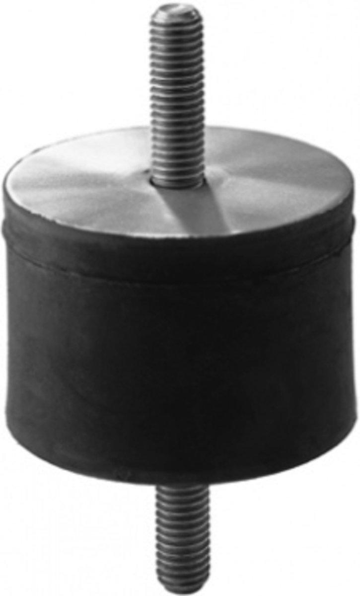 Cilindrische Trillingsdemper Type A 50 x 25 A m10x28 RVS-316 kopen