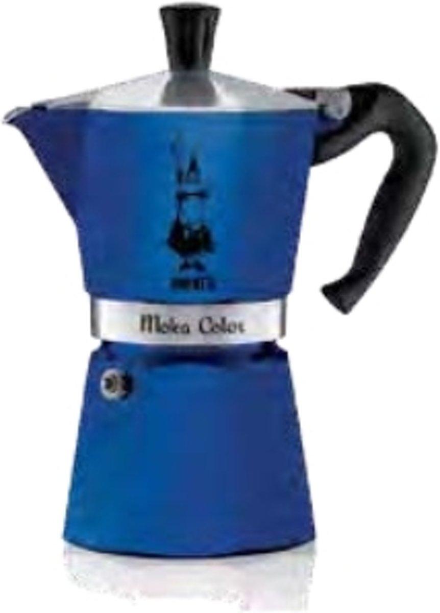 Bialetti Moka Express Blauw - 300ml - 6 kops kopen