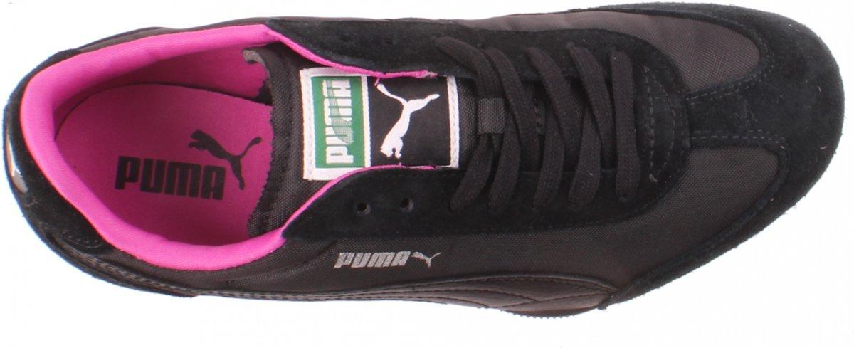 Puma 76 Runner Femmes Nylon Sneakers Noir Taille 35.5 PrZhqGU