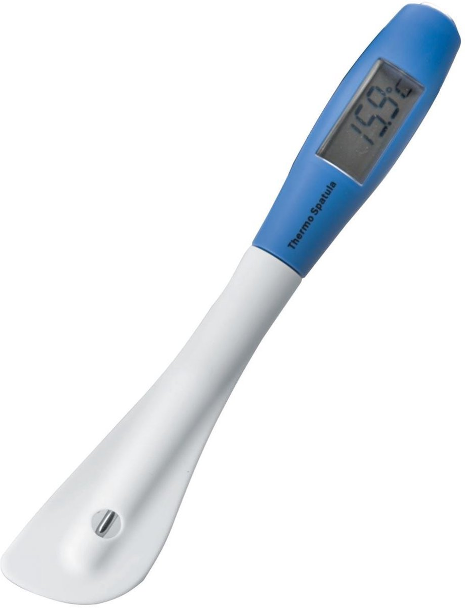 Spatel uit silicone met ingebouwde thermometer kopen