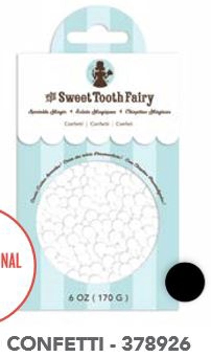 the Sweet Tooth Fairy witte confetti Sprinkles kopen
