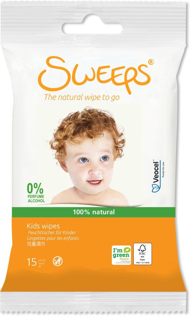 Sweeps Babydoekjes (12 reisverpakkingen: 12x15 stuks) kopen