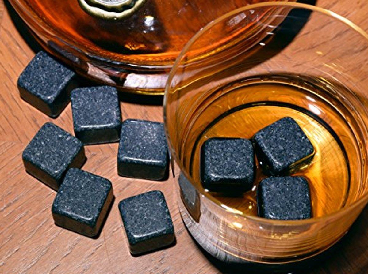 Stenen voor Whiskey Rocks / Set van 6 stuks Black / HaverCo kopen