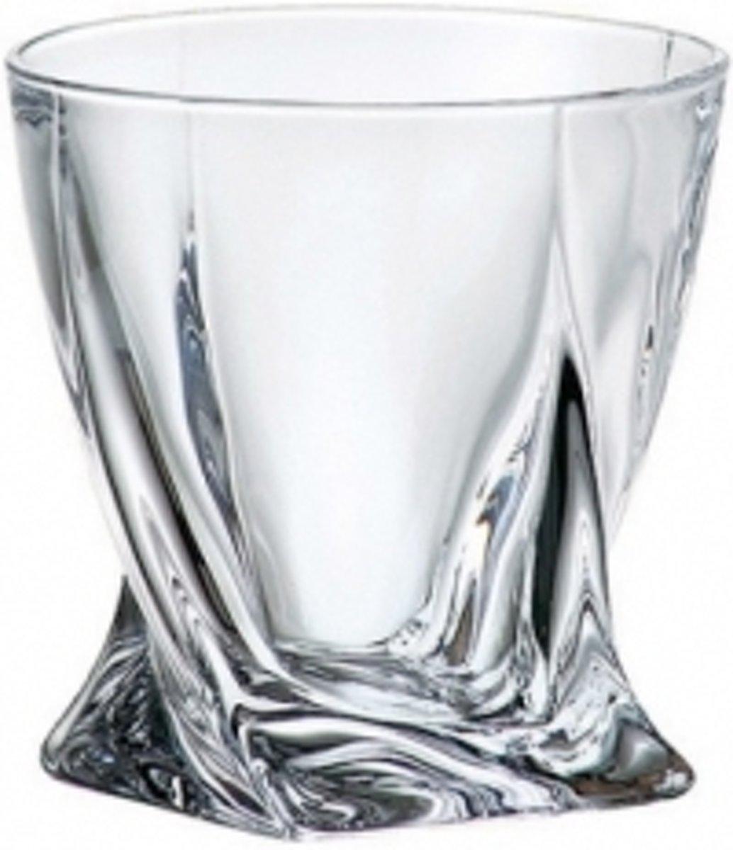 Crystalite Quadro whiskeyglazen - 34 cl - 2stks kopen