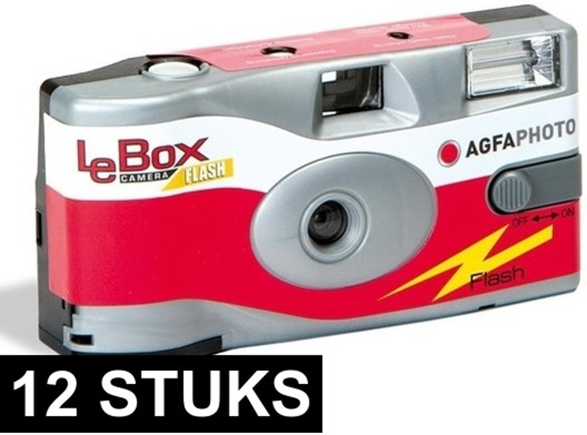 12x wegwerp cameras met flitser kopen