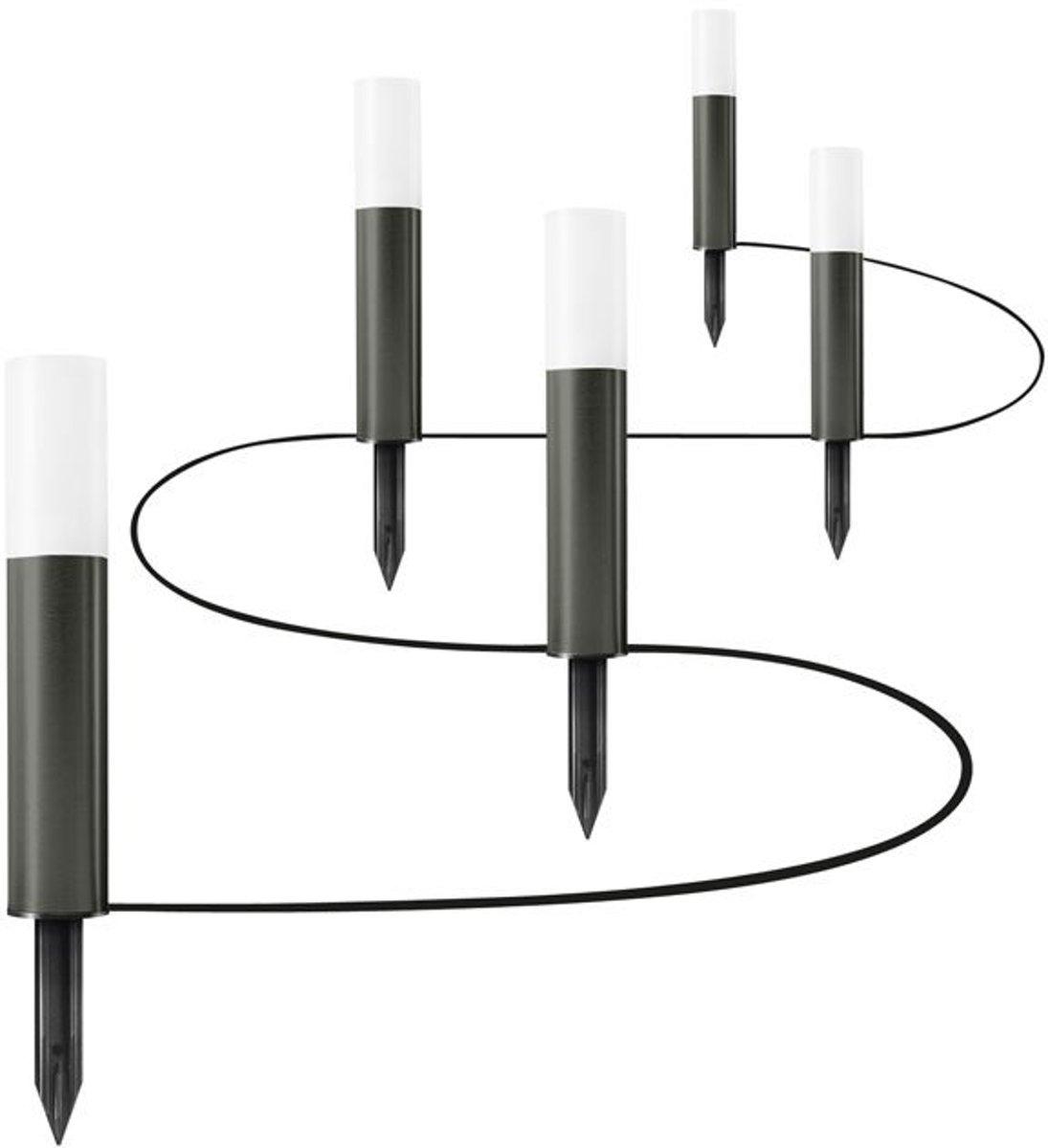 Ledvance 5x LED grondspies antraciet 5.5W Endura Garden Pole kopen