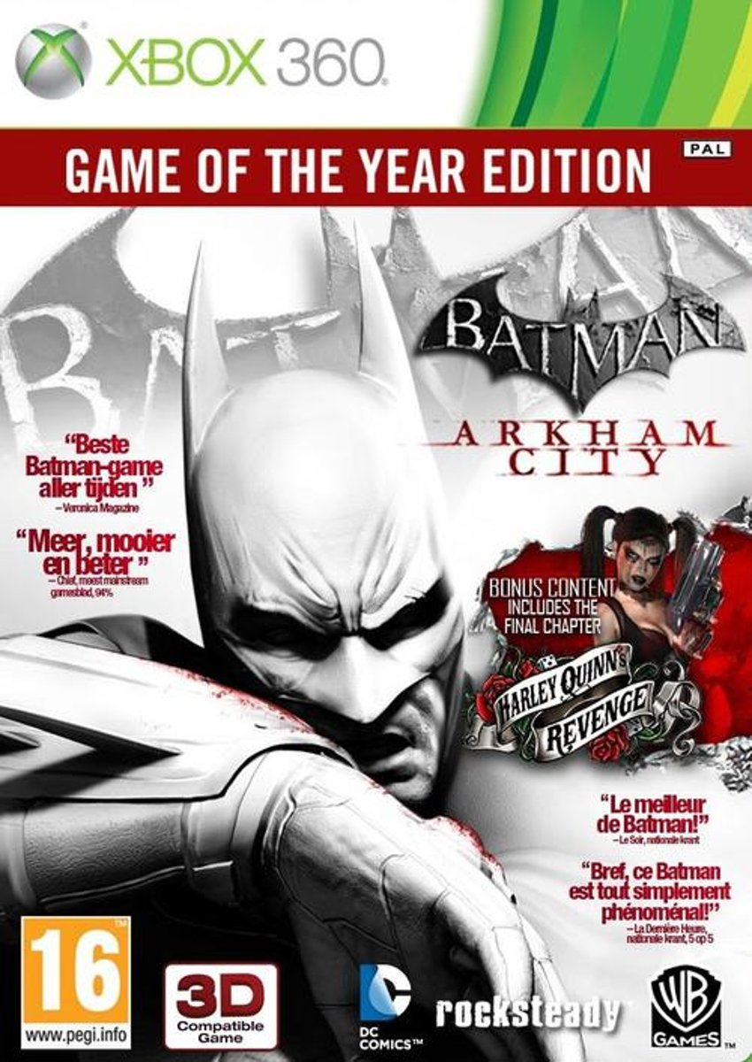 Batman: Arkham City - Game of the Year Edition /X360 kopen
