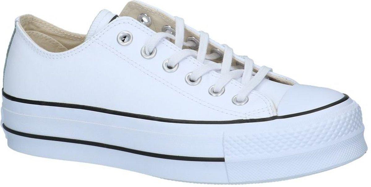 Converse As Lift Ox Sneaker laag gekleed Dames Maat 37 Wit WhiteBlackWhite