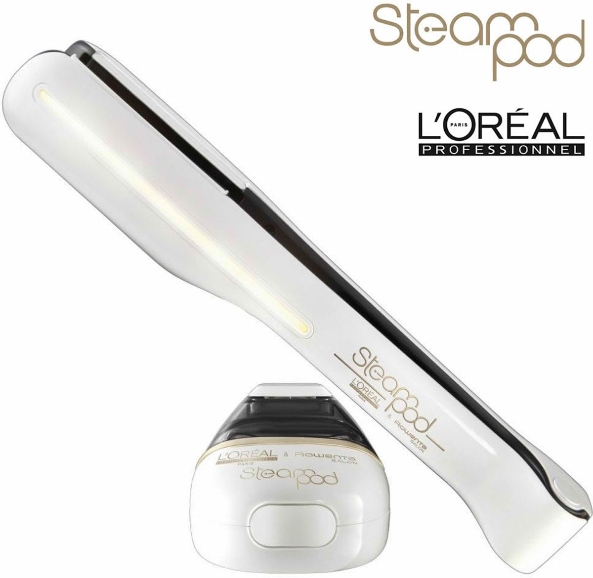 L'Oreal Steampod 2.0 | Stoom stijltang | 140-210°C  | Steam Pod | WIT