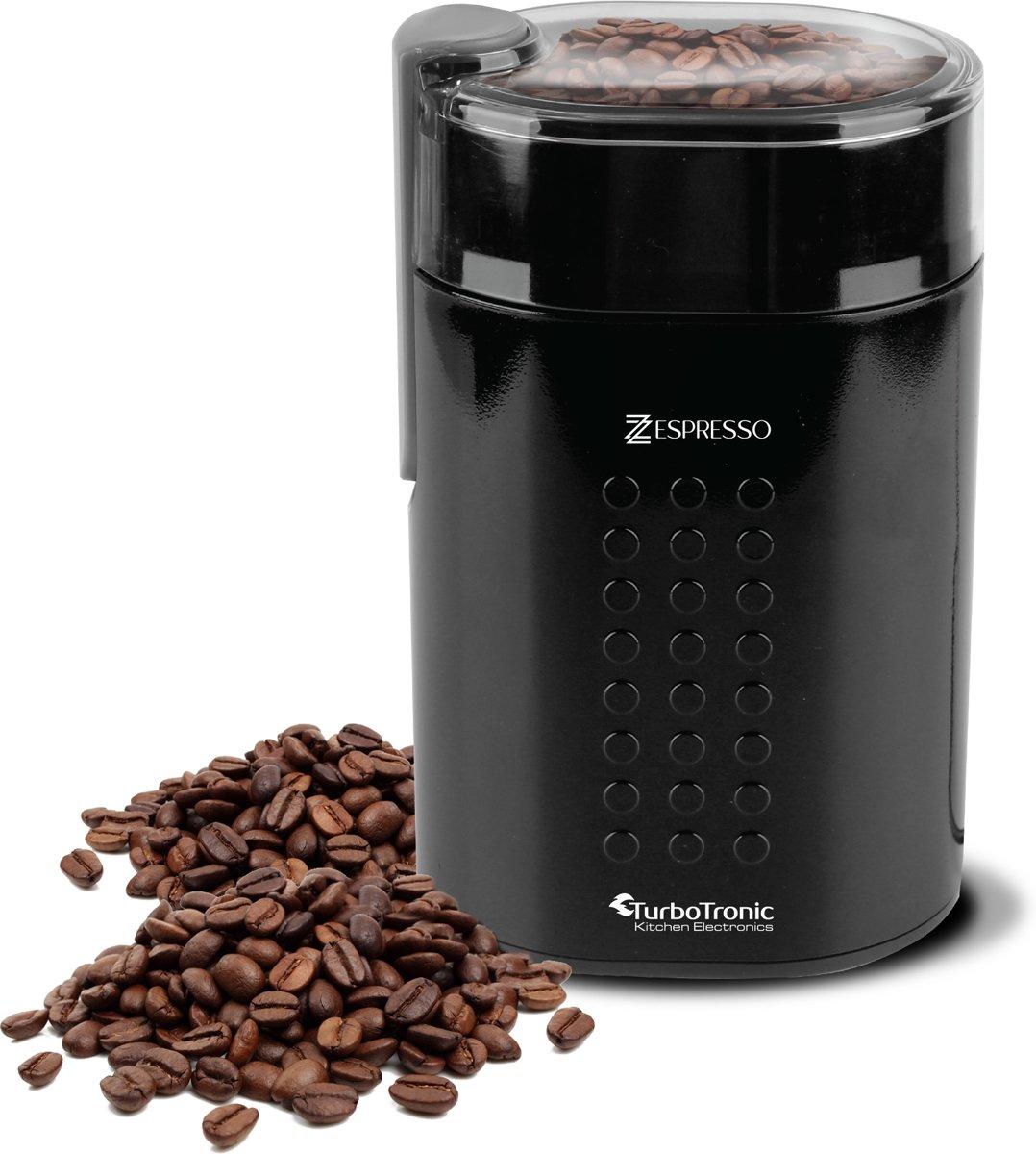 TurboTronic TT-CG5 Electrische Koffiemolen Zwart kopen