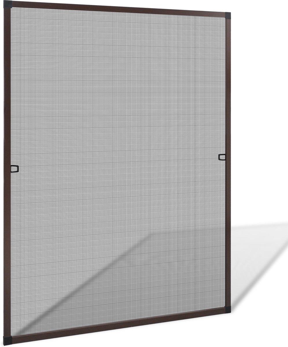 VidaXL - Inzethor - 100x100 cm - Bruin kopen