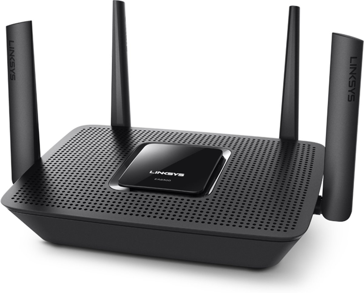 Linksys EA8300 Max-Stream AC2200 Tri-Band Wi-Fi Router voor €99