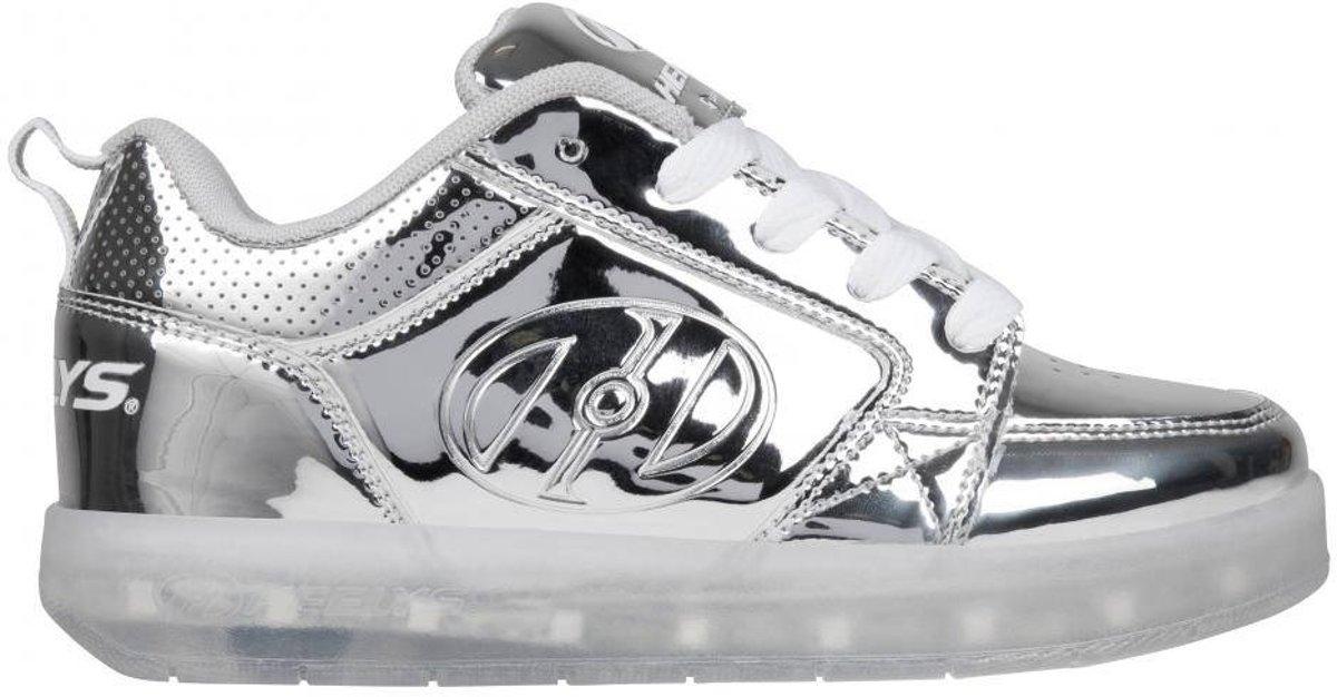 Heelys À De Gamme Roulettes Haut Lo Chaussures Blanc fFgqRAFH