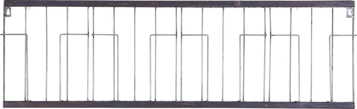 BePureHome Paper - Tijdschriftenrek - Metaal zwart - 104 cm kopen