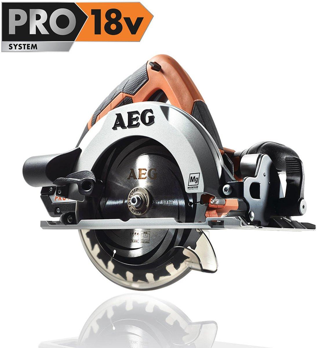 AEG Powertools BKS18Li Draadloze cirkelzaag D165mm 18V | Cirkelzaagmachine