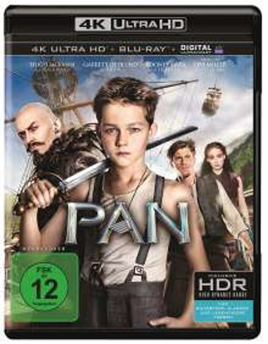 Pan (Ultra HD Blu-ray)-