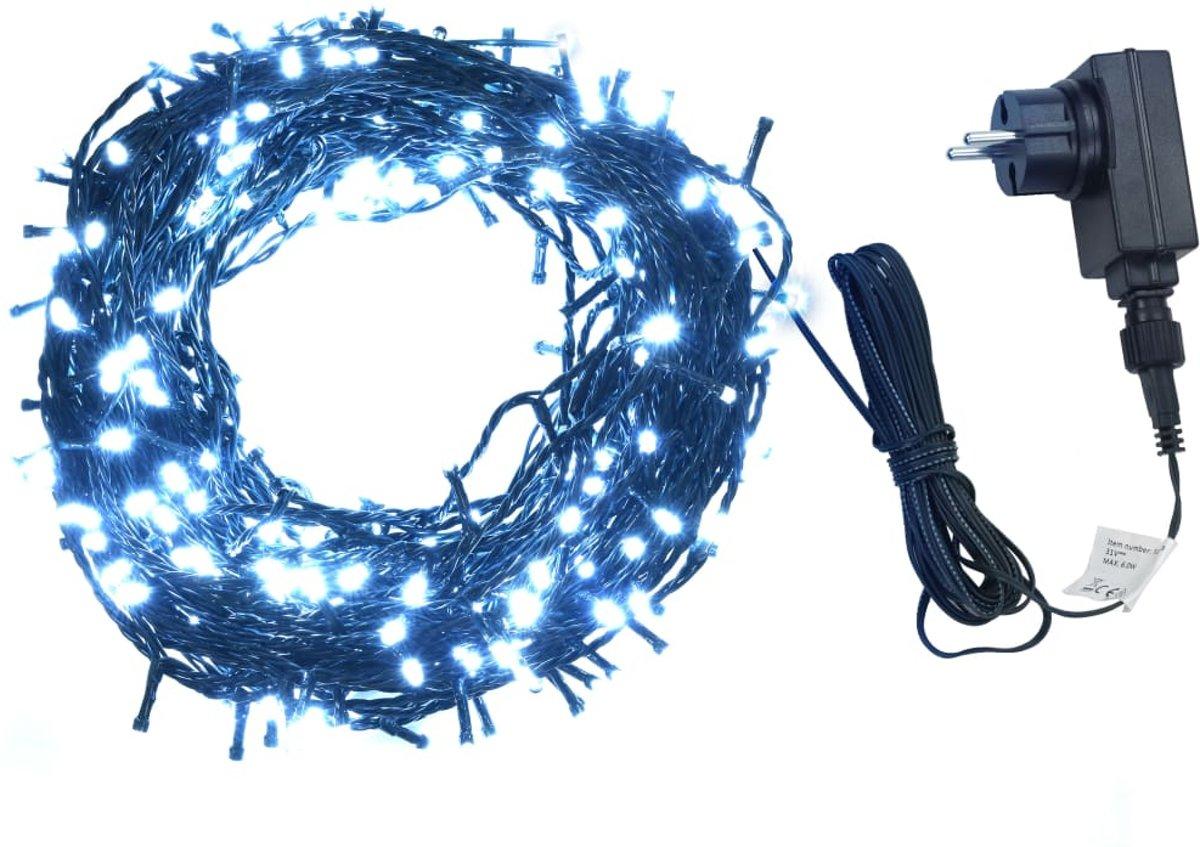 vidaXL Lichtslinger 1000 LED's binnen en buiten IP44 100 m koud wit kopen