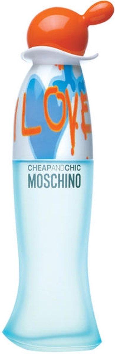 MULTI BUNDEL 2 stuks Moschino Cheap and Chic I Love Love Eau De Toilette Spray 100ml kopen