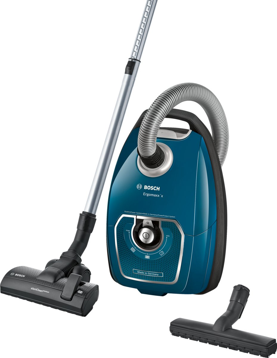 Bosch Ergomaxx'x BGL7PRO - stofzuiger met zak - Petrol blauw kopen