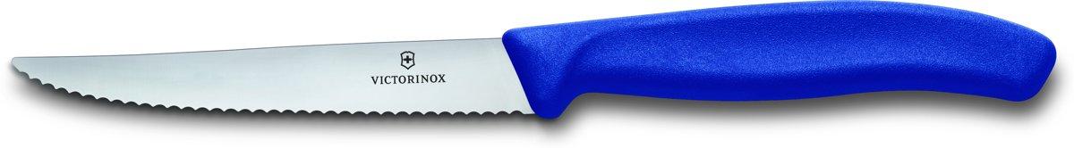 Victorinox Steakmes 6 stuks blauw kopen