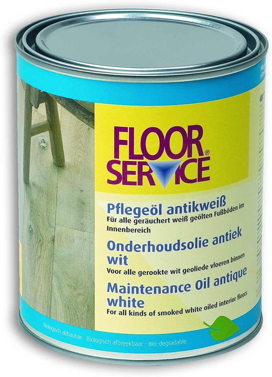 Floorservice Onderhoudsolie Antiek Wit - 1 liter kopen