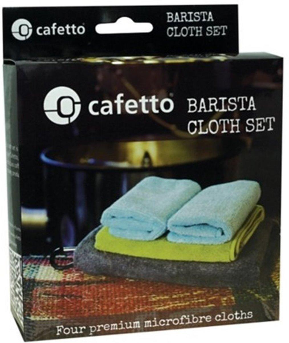 Cafetto Barista-Doekenset (4 stuks) kopen