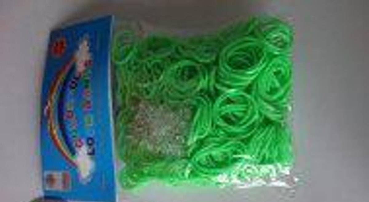 Loom Bands Colorful Lime Groen, A-Kwaliteit