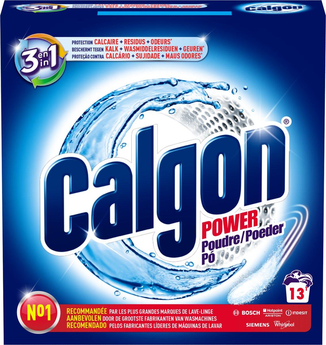 Calgon 3 in 1 Power - Ontkalkingspoeder voor Wasmachines - 13 doses kopen